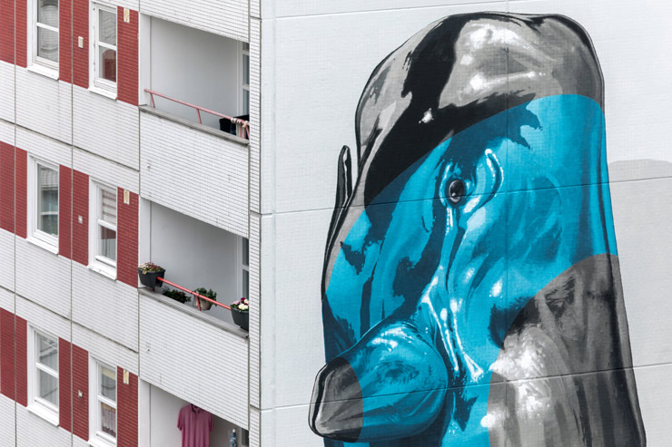 "Nevercrew Reifies on ""One Wall"" in Berlin"