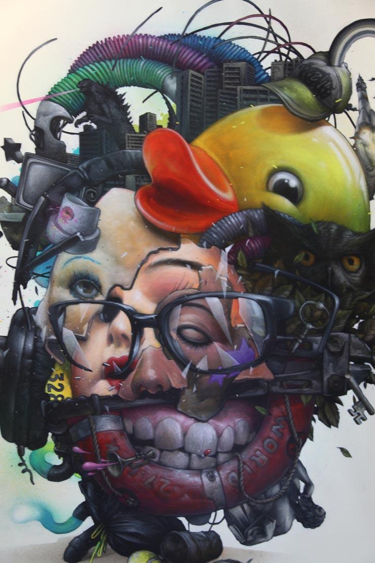Moniker Art Fair: Scenes From Behind The Scenes