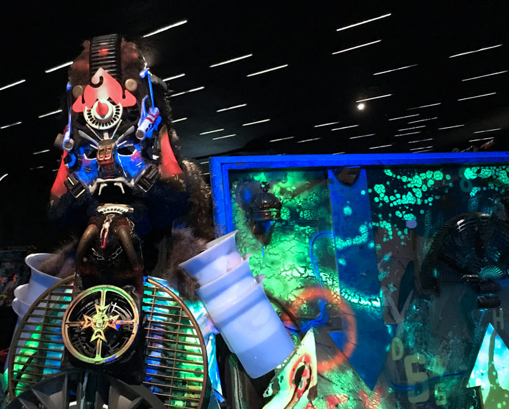 Rammellzee, Racing For Thunder, and Interview with Carlo McCormick