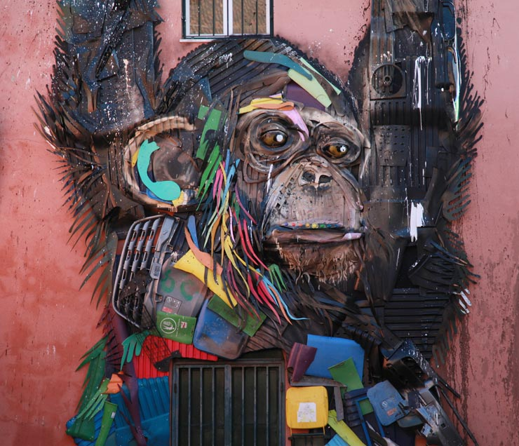 Trash Talk: Bordalo II in His Hometown