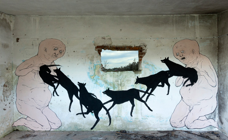 David De La Mano X Nemo's Collabo in Abandoned Uruguay