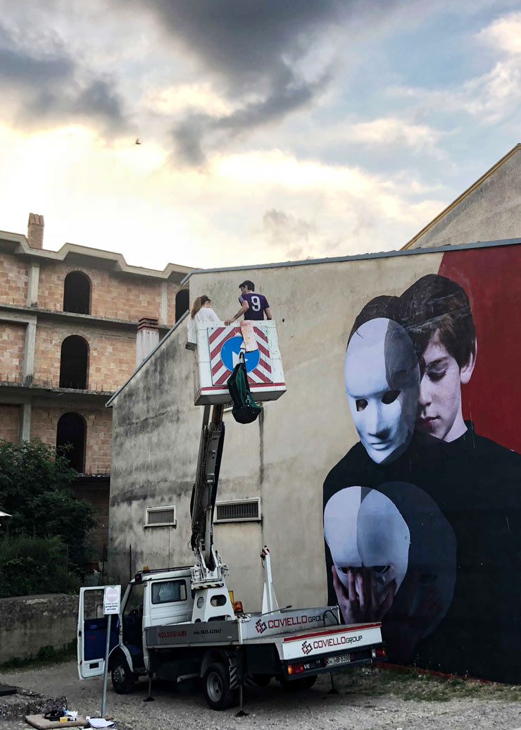 Bifido Takes Off Mask in Bonito, Italy