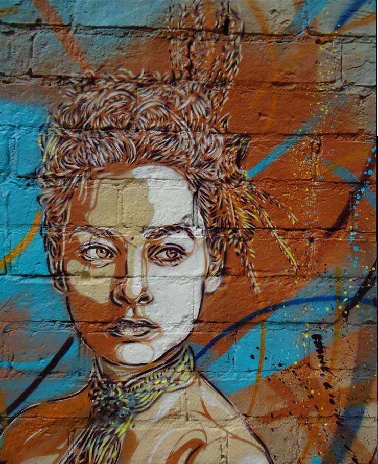 C215 and Two Fine Ladies In Moscow