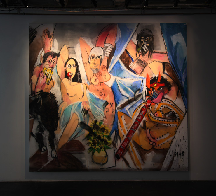 Anthony Lister Confronts Picasso At Urban Spree in Berlin