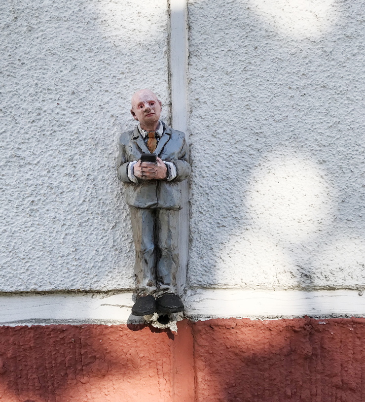 Isaac Cordal at UPEA Art Festival 2018 – Finland. Dispatch 3