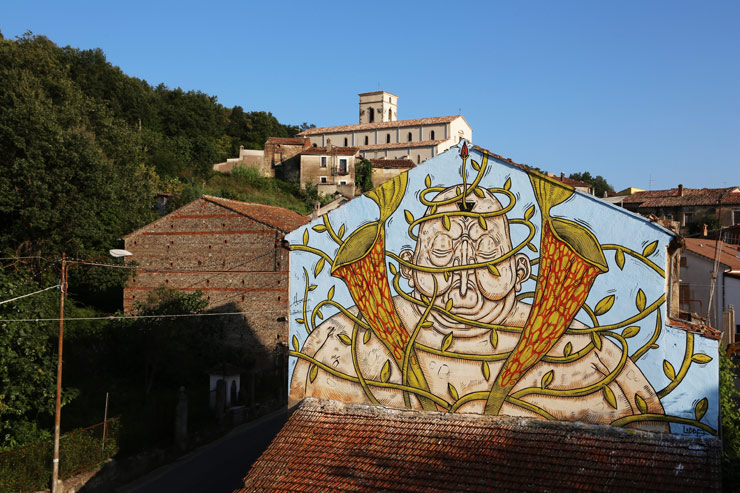 "Luca Ledda, Carnivorous Plants, and ""Gulia Urbana"" in South of Italy"