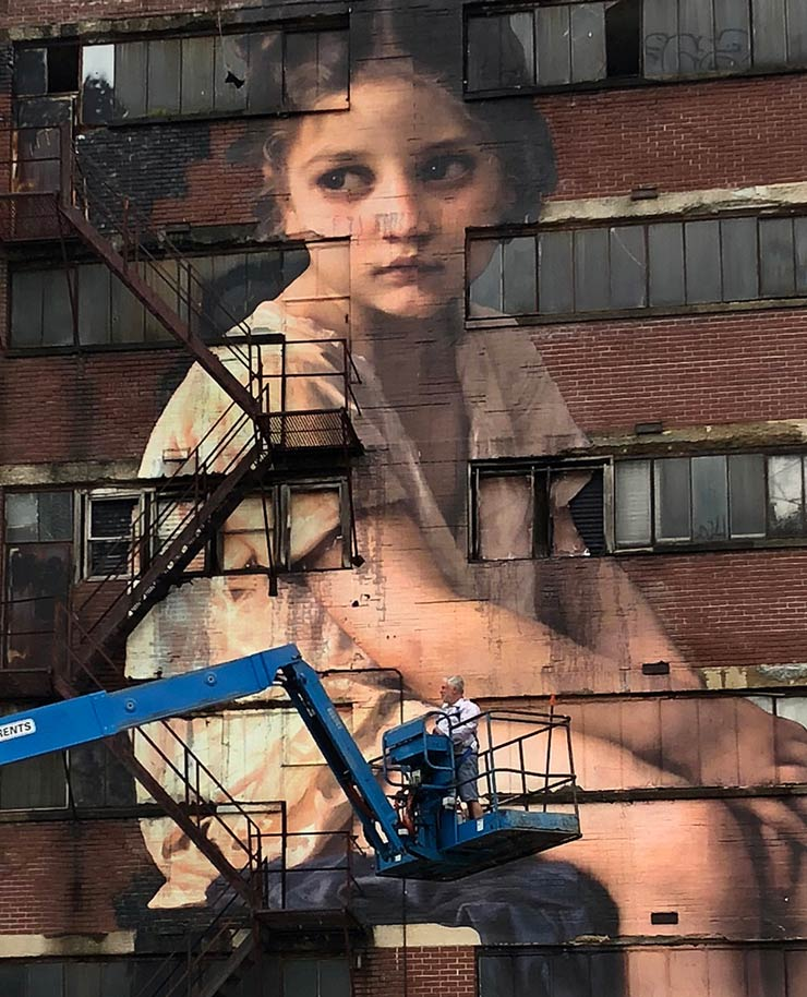 The Outings Project, Bouguereau, and a Memphis Factory Facade
