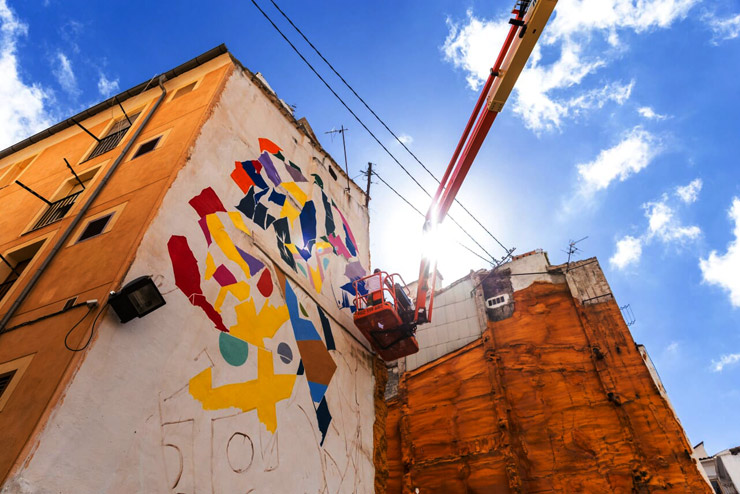 """Urban Skills"" in Alcoy, Spain brings Nuria Mora, Sebas Velasco, Demsky, Smithe and Dulk"
