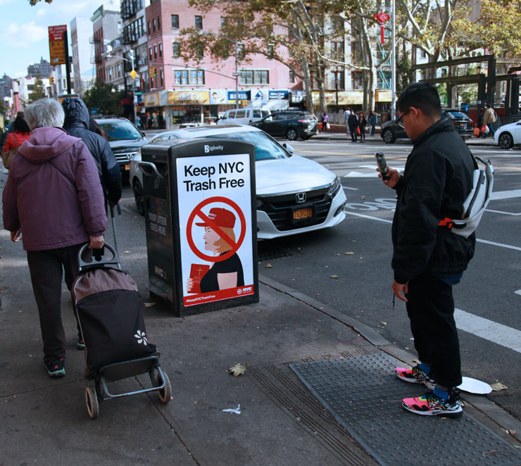"Winston Tseng: Street Provocateur Brings ""Trash"" Campaign to NYC"