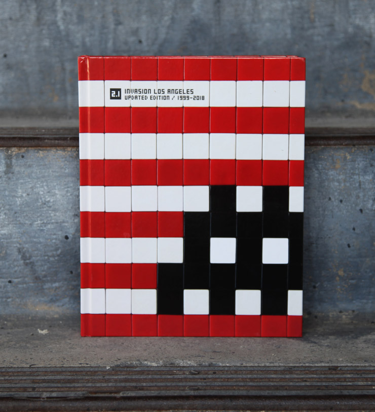 "Invader: ""Invasion Los Angeles"" Book and ""Into the White Cube"" Exhibition"