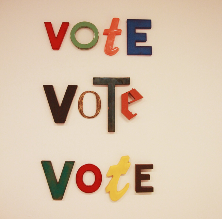 VOTE! It's Up to YOU.