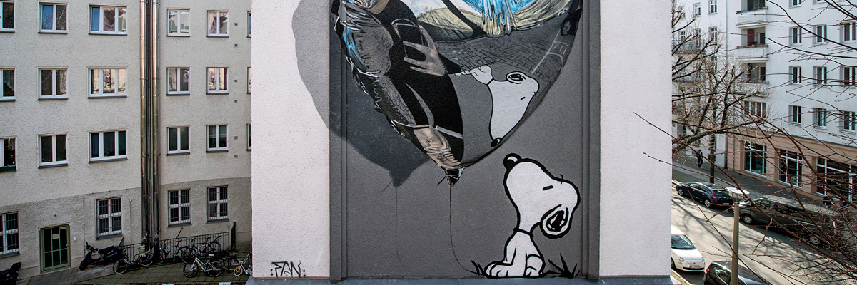"Fanakapan Pays Tribute to His Dog in New UN ""One Wall"" in Berlin"