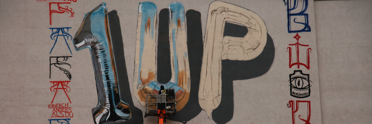 Vox Graffiti Roars in Berlin with New Fanakapan x 1UP Collabo