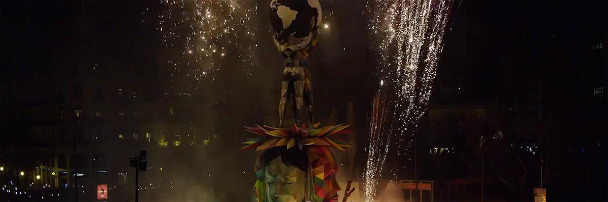 "BSA Film Friday Live At Urvanity: Madrid Premiere of Okuda's ""Equilibri"""