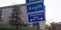 """Vlady: """"Segregation"""" Street Sign Campaign in Stockholm"""