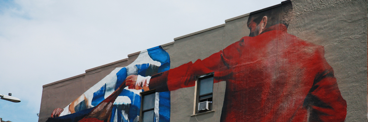 Conor Harrington Soars and Parries Above NYC Streets