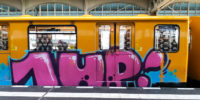 Train Spotting in Berlin, Brought to U3 by 1UP