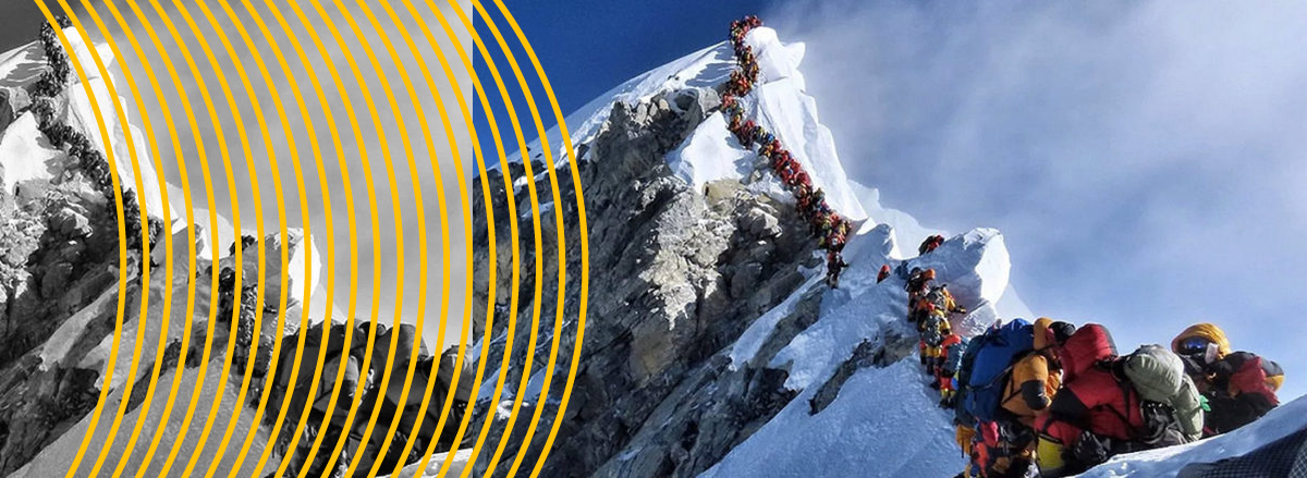 15 Wishes From BSA for 2020. No. 1 : Climb Every Mountain