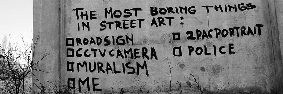 ELFO: The Most Boring Things in Street Art