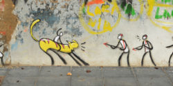 Leisurely Street Art in El Cabanyal in Valencia