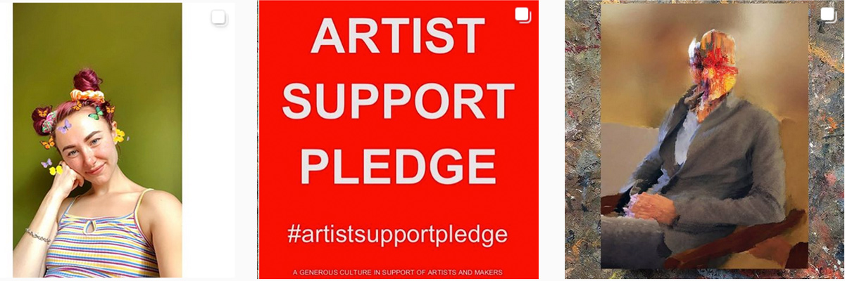 Matthew Burrows: #ArtistSupportPledge / Dispatch From Isolation # 20