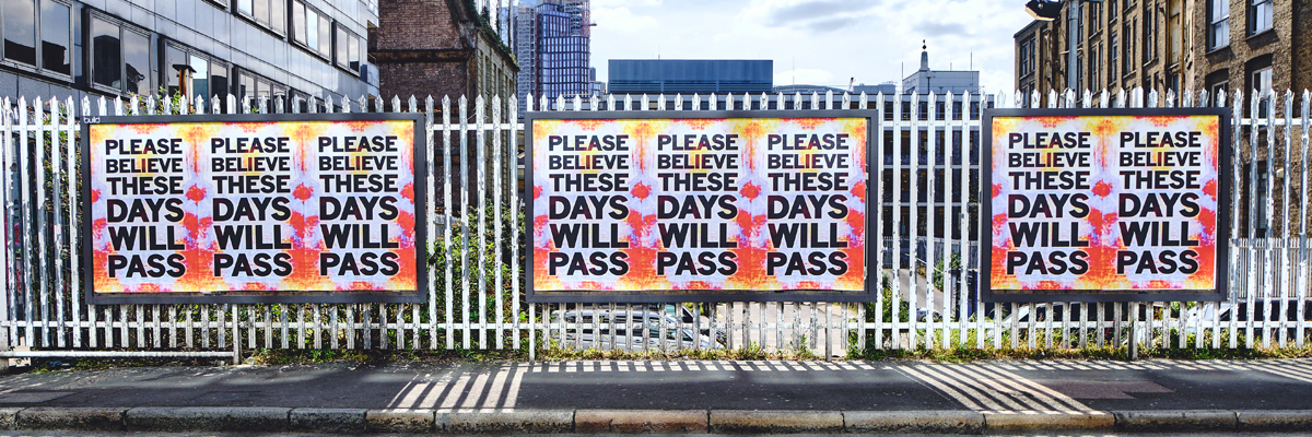 "Mark Titchner: ""Please Believe These Days Will Pass"" / Dispatch From Isolation # 44"