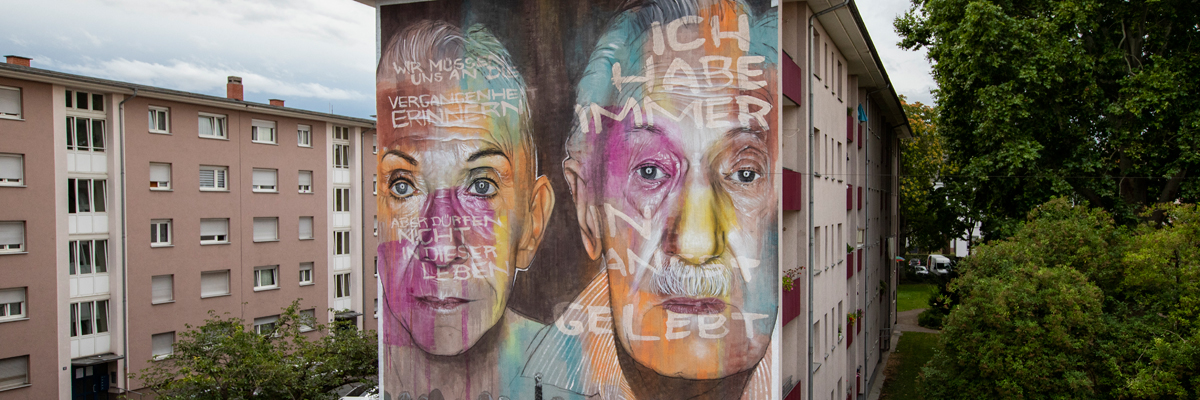 "AKUT Remembers With Two Portraits in Mannheim: ""Lest We Forget"""