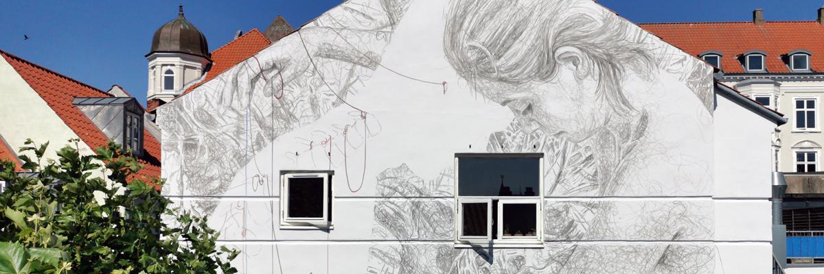 Jacoba Niepoort Paints Connectedness in Horsens, Denmark