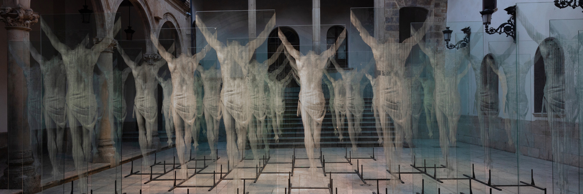 Gonzalo Borondo and 36 Christ-like Apparitions Displayed in Salamanca, Spain