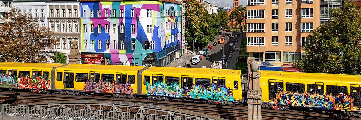 Urku Abstractly / One Wall Project / Urban Nation Berlin