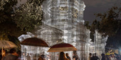 "Edoardo Tresoldi: Bringing Cathedral Sized Sculptures ""Back To Nature"" in Rome"