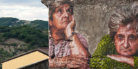 Bifido Listens to and Tells  Stories on the Streets of  Stigliano