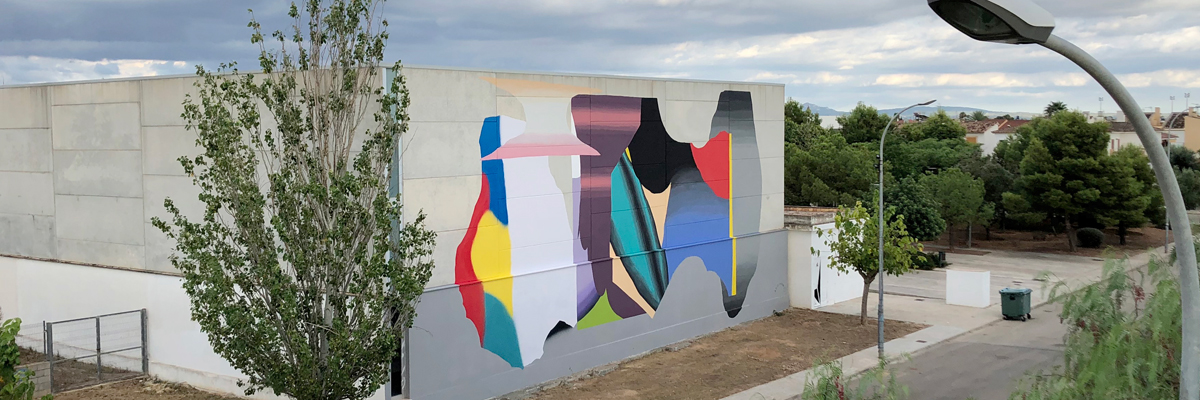 Grip Face Faces Generationally Abstract Obstacles in Palma de Mallorca