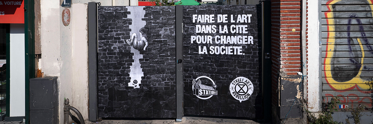 """Street Art Rebellion"" Joins ""Extinction Rebellion"" to  #loveplanet"