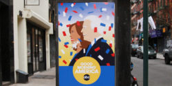 "Street Art Says ""Happy Inauguration"" to Biden and Harris"