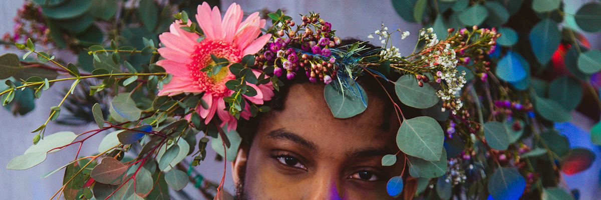 "Botanical Crowns, Blended Gender, and New Jazz: Gaia is ""Overjoyed"" In Baltimore"