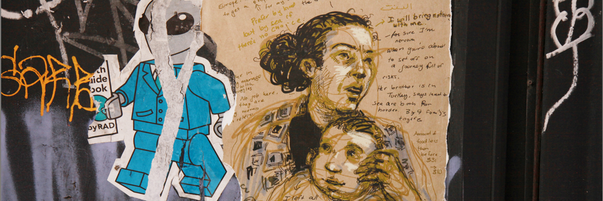 """""""Aliens, That's What They Called Them""""- Molly Crabapple on the Streets"""