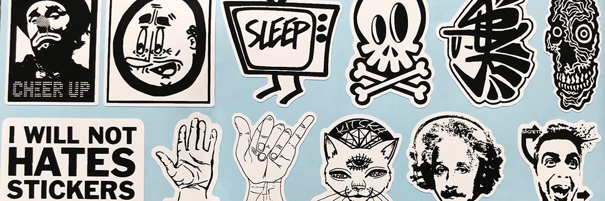"""Unsmashed"" A Street Art Sticker ""Field Guide"""