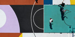 "Greg Jager and a Roman Basketball Court: ""Tiber Courtyard"""