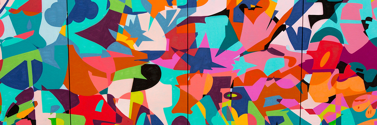 Zeky Shatters, Scatters, and Pumps the Color Palette in Paris
