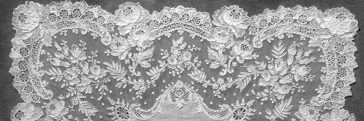 NeSpoon Interprets 19th Century French Needle Lace from the Musée des Beaux-arts