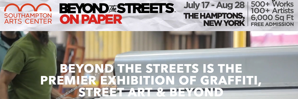 """""""Beyond The Streets"""" On Paper Opens in Southampton"""