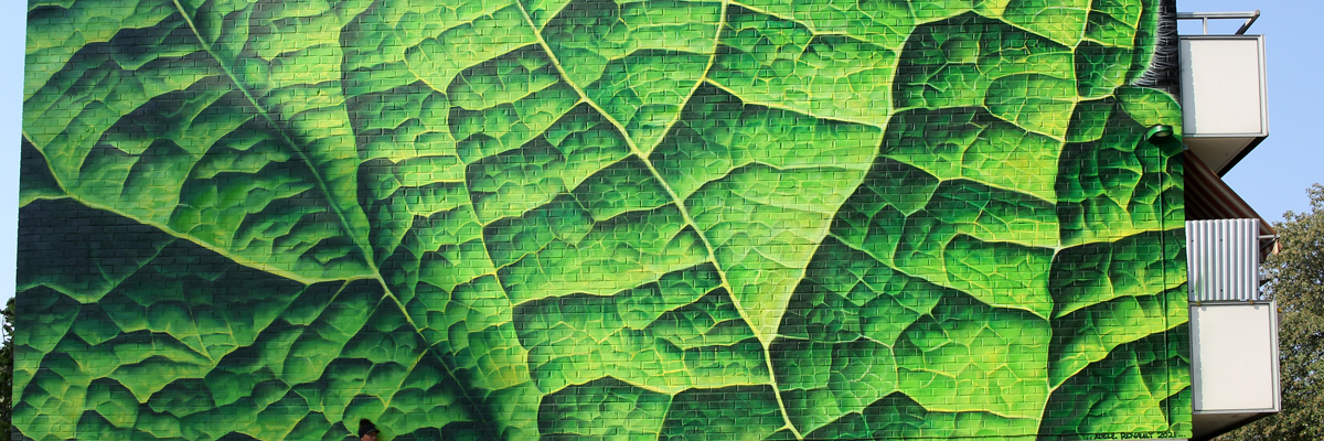 Adele Renault: Paints a Stinging Nettle in Sweden