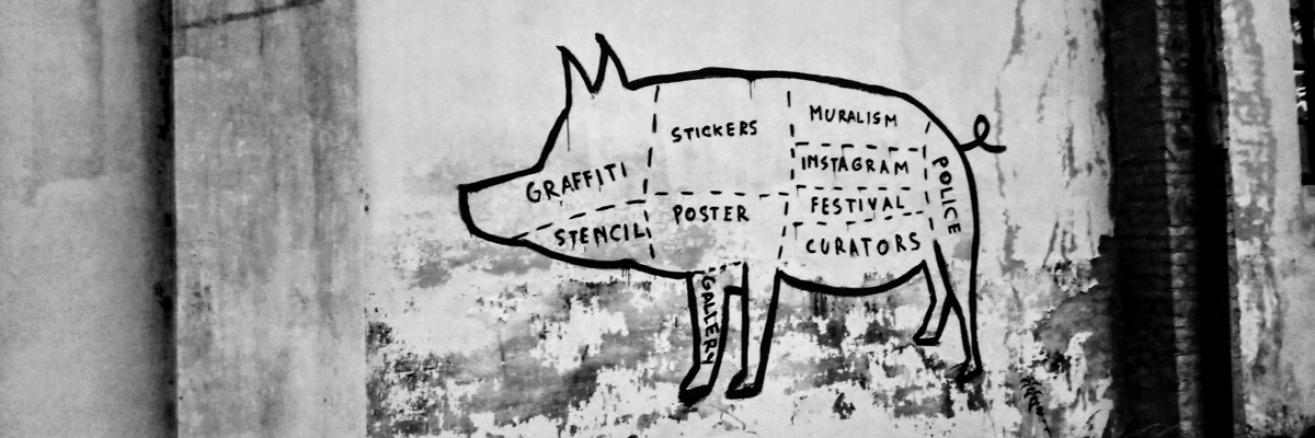 Elfo's Neo-Dada Butchering Diagram in Turin