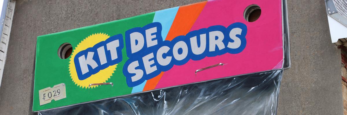 "Leon Keer Triggers Childhood Nostalgia with ""Kit de Secours"" in Plougasnou, France"