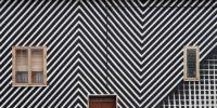 Motorefisico Bring Op, Kinetic, and Tape Art Stencilling to Santa Croce di Magliano