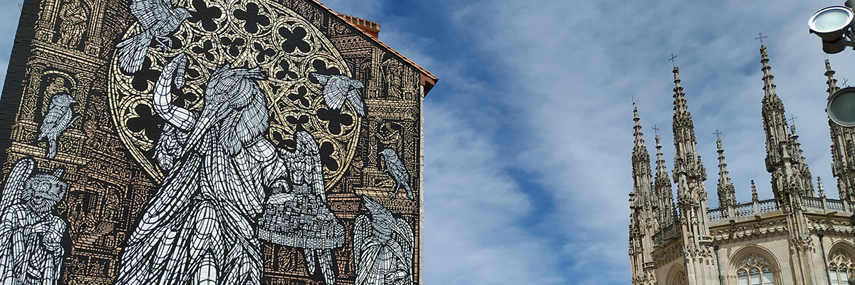 """Monkey Bird: """"L'ouvreur de Chemins"""" Celebrates a Cathedral's 800th in Spain"""