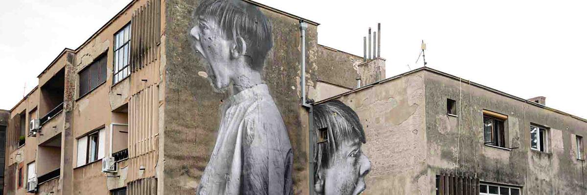 "Bifido: ""Love Will Tear Us Apart"" in Mostar, Bosnia Herzogovina"