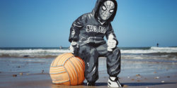 """Tuco Wallach Moves to """"Humasks"""" on the Street and Beach in France"""