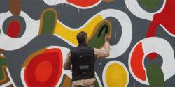 JONONE Outside in Paris with ART AZOÏ